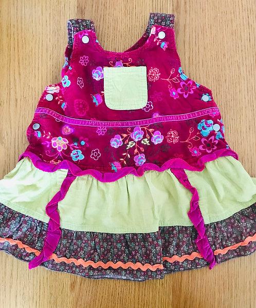 9-12m multifabric dress