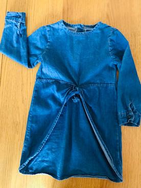 2-3 years long sleeve dress
