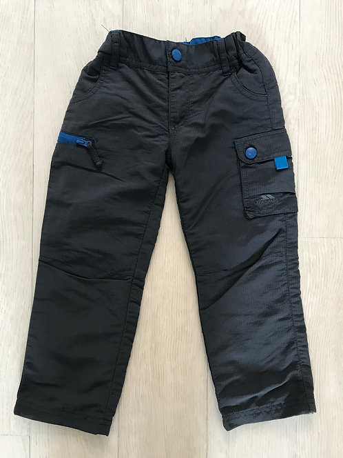 Age 2-3 Trespass grey outdoor trousers