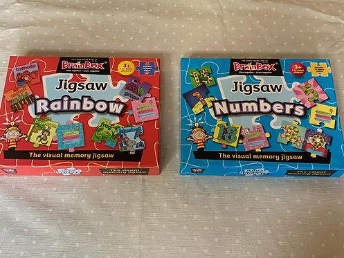 2 Brainbox jigsaws
