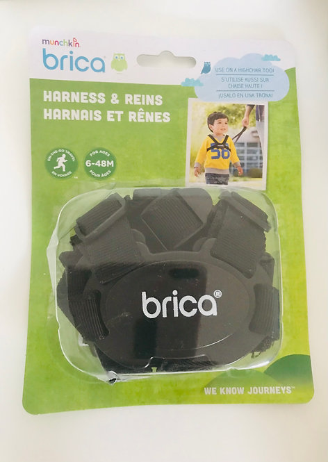 BRand new Brica safety harness and reins