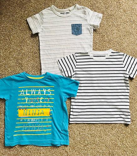 Age 2-3 t shirt bundle (mainly Next)
