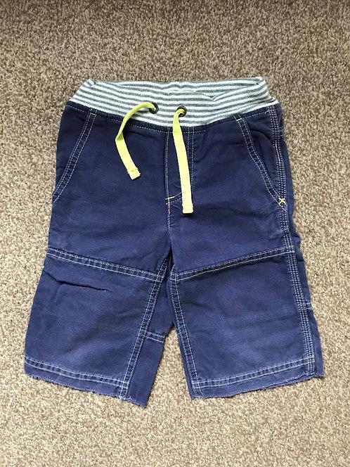 Age 4 Mini Biden striped waistband shorts