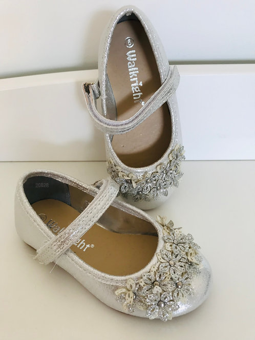 Brand new Size 6 silver shoes