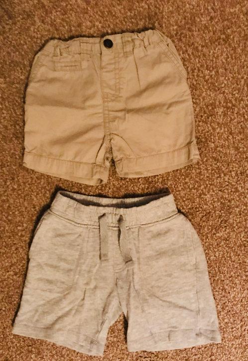 2 x 18-24m shorts
