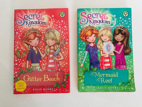 2 x Secret Kingdom books