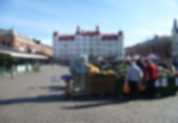 Mollevangstorget Malmo marché