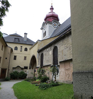 Abbaye de nonnberg Salzbourg extérieur