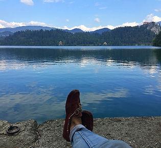 Bled, Slovénie, lac, se ressourcer, lieu magique, alpes