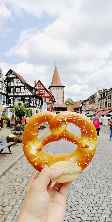 Gengenbach Allemagne bretzel place