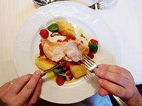 Gengenbach Allemagne sonne restaurant plat