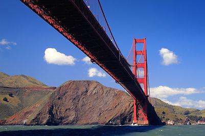 San Francisco Golden Gate Bridge sud