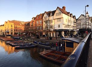 bateau sur la rivière cam à Cambridge, idée séjour, blog voyage, made in trip