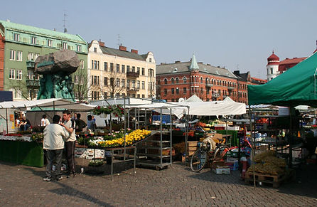 Mollevangstorget Malmo marché sud