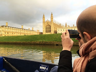 punting cam cambridge angleterre
