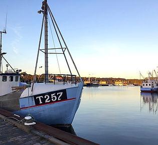 Fjord danemark port bateau fjords