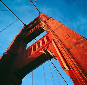 San Francisco Golden Gate Bridge nord ouest