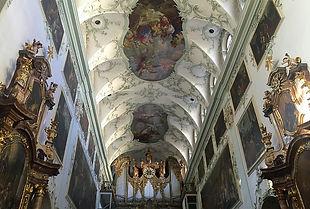 Abbaye de saint pierre Salzbourg intérieur
