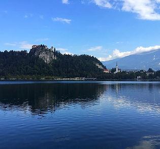 Bled, Slovénie, lac, Alpes, montagnes, Ljubiana, église, île