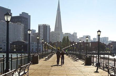 San Francisco financial district sud