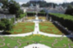 Château mirabell Salzbourg jardins