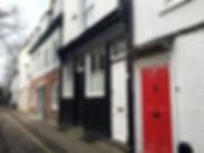 porte du centre ville de cambridge, couleurs, douceur de vivre, blog de voyage, conseils voyage