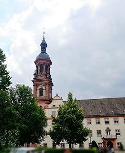 Gengenbach Allemagne église sainte marie clocher