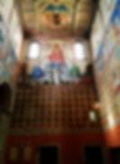 Gengenbach Allemagne église sainte marie interieur fresque