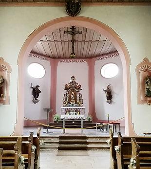 Gengenbach Allemagne chapelle saint jakob intérieur