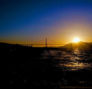 San Francisco Golden Gate Bridge nord est