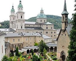 Abbaye de saint pierre Salzbourg extérieur