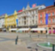 Place Jelacic, Zagreb, Croatie