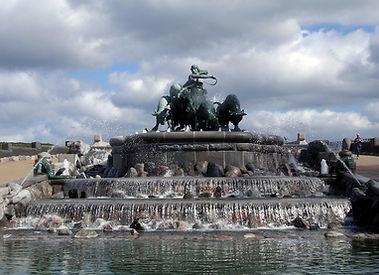Kastellet Petite sirène Copenhague fontaine