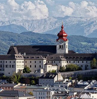 Abbaye de nonnberg Salzbourg vue