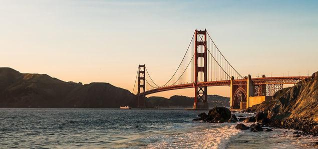 San Francisco Golden Gate Bridge sud ouest
