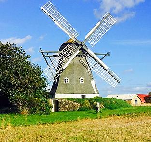 Fjord danemark moulin à vent fjords