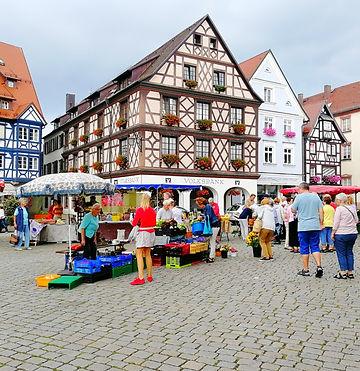 Gengenbach Allemagne marché place