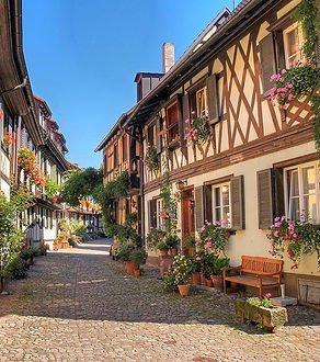 Gengenbach Allemagne colombages