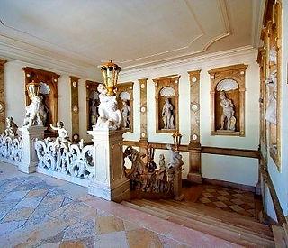 Château mirabell Salzbourg escalier