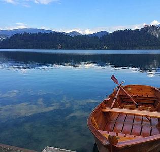 Bled, Slovénie, lac, bateau, vue incroyable