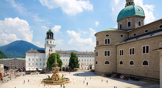 Residenzplatz Salzbourg Plave