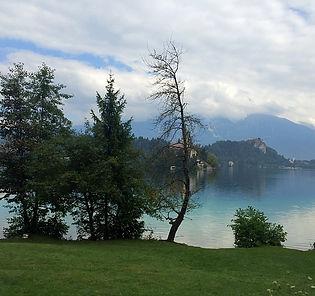 Bled, Slovénie, lac, alpes, nature, château ,eau clair
