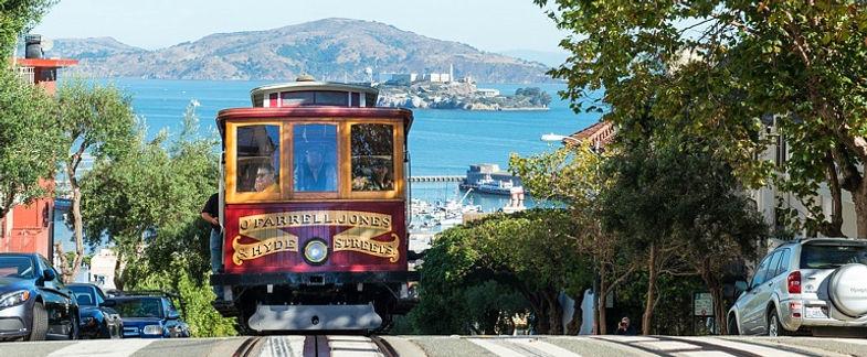 San Francisco cable car sud