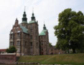 château rosenborg Copenhague ouest