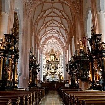 Abbaye de nonnberg Salzbourg église