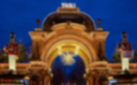 les jarins de tivoli Copenhague nuit entrée