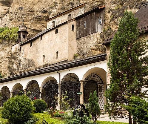 Abbaye de saint pierre Salzbourg 6ème siècle
