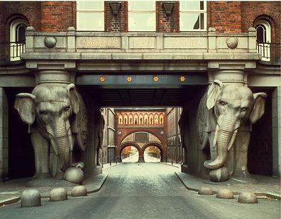 usine bière Carlsberg Copenhague éléphant