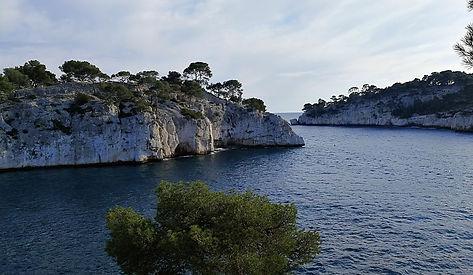 cassis calanque port miou provence