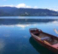 Bled, Slovénie, lac, eau, road trip, île